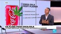 Ça plane pour Coca-Cola : la firme américaine travaille sur une boisson au cannabis