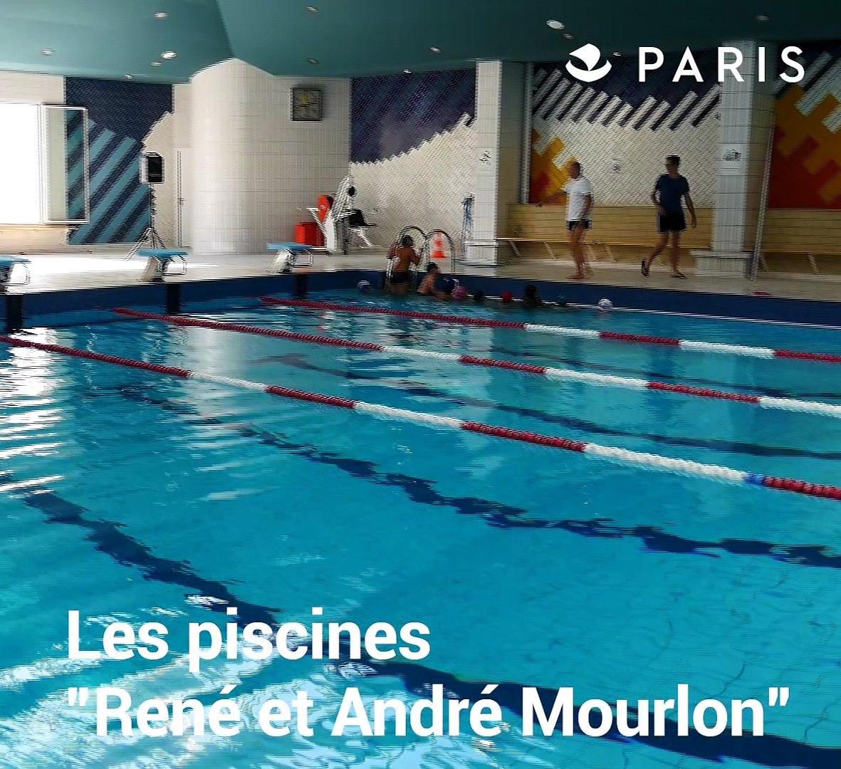 """Constructeur De Piscine Paris inauguration des piscines """"rené et andré mourlon"""" et """"emile"""
