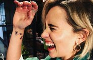 Emilia Clarke gets Game of Thrones dragon tattoo