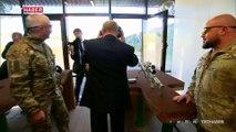 Putin, Kalaşnikof'un keskin nişancı tüfeğini test etti