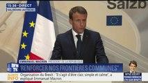 """Brexit: """"Les propositions (britanniques) faites en l'état ne sont pas acceptables"""", estime Emmanuel Macron"""