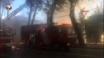 Kabataş Erkek Lisesi'nde yangın