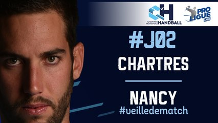 #J02 : CHARTRES - NANCY #veilledematch