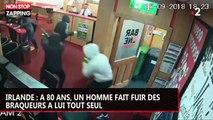 Irlande : à 80 ans, un homme fait fuir des braqueurs à lui tout seul (vidéo)