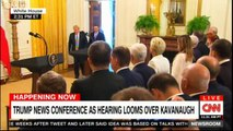 Donald Trump News Conference as hearing looms over Kavanaugh. #DonaldTrump #CNN #NewsConference #Poland #News #Trump2020 #GOP #WhiteHouse