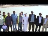 خليفة الإنسانية  تدشن أكبر سد في الصومال