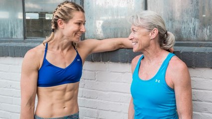 Meet Jessie Graff's Mom, the Oldest Female American Ninja Warrior