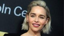"Emilia Clarke Gets A ""Game of Thrones"" Tattoo"