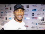 Anthony Joshua: Alexander POVETKIN IS CUTER than Deontay Wilder