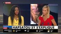 """Hapsatou Sy : """"Je demande que Eric Zemmour ne soit plus invité sur les plateaux télé tant qu'il ne s'est pas excusé (..) Je ne suis pas virée de C8."""""""