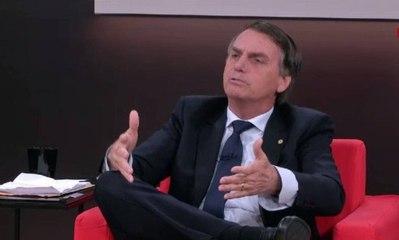 """""""Há uma tara por parte da garotada em ter um diploma"""", diz Bolsonaro"""