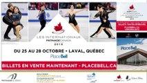 Souvenir Georges-Éthier 2018 / Championnats de sous-section Québec 2019 Eve 3 Juvénile moins de 14 ans Messieurs & Eve 4 Pré-Novice Dames Gr. 5 prog. Court