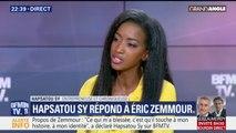 """""""Je ne suis pas pour le silence face à la bêtise"""", témoigne Hapsatou Sy"""