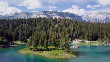Flims in Graubünden – Eine Schweizer Bilderbuchlandschaft