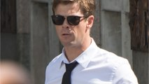 Chris Hemsworth Shares Video From The Set of 'Men In Black' With Tessa Thompson