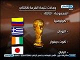 وقوع غانا في اقوي المجموعات مع منتخبات المانيا و البرتغال و امريكا في قرعه كاس العالم