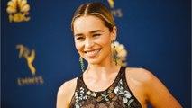 "Emilia Clarke Shows Off Her New ""GoT""-Inspired Tattoo"
