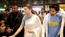 Anushka Sharma saves child from crowd at Mumbai Airport; Watch Video   FilmiBeat