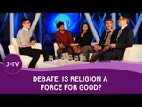Debate: Is Religion A Force For Good? - Rabbi vs 3 Atheists | J-TV
