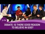 Rabbi vs 3 Atheists Debate - Is There Good Reason to Believe in God? | J-TV