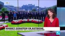 """Sommet Salzbourg: """"Il faut arrêter d''adopter le discours d'extrême droite"""""""