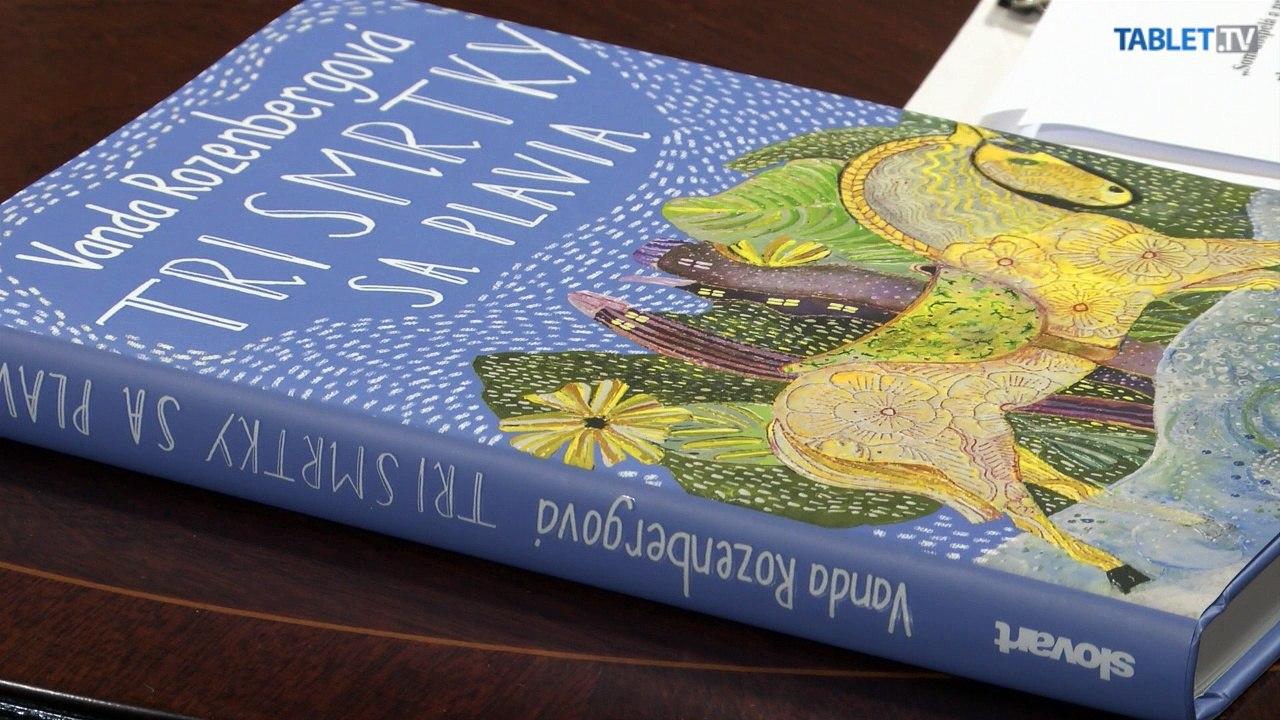 KAVIAREŇ NA PATRÓNKE: So spisovateľkou Vandou Rozenbergovou o jej najnovšej knihe Tri smrtky sa plavia