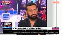 """Cyril Hanouna revient sur le départ de Bertrand Chameroy dans """"Morandini Live"""" (vidéo)"""
