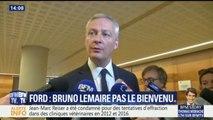 """Site Ford de Blanquefort: """"le repreneur Punch est crédible"""" estime Bruno Le Maire, Philippe Poutou réclame plus de garantis"""