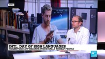 International day of sign language: New app helps deaf people make phone calls