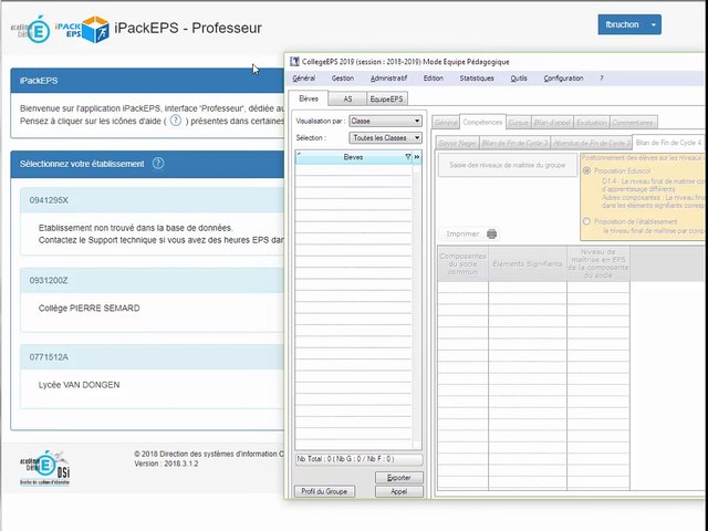 Logique Utilisation iPackEPS-CollegeEPS