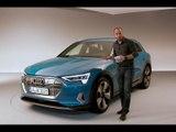 Présentation de l'Audi e-tron (2018)