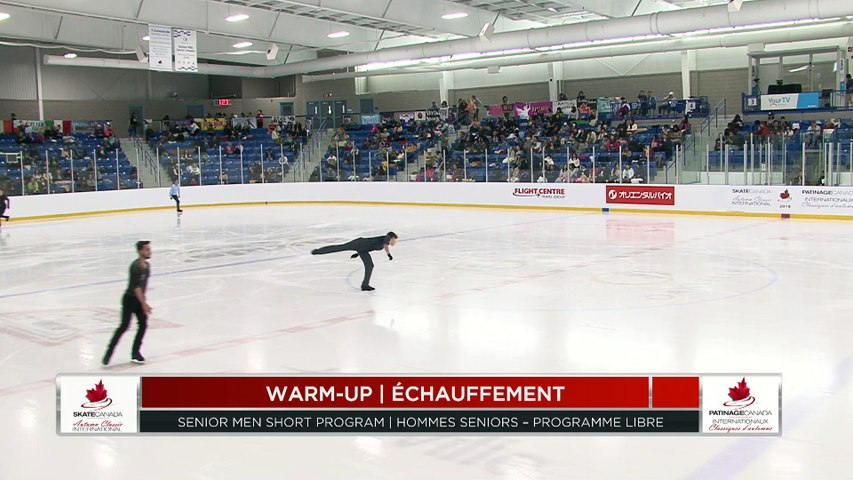 #ACI18: Men's Short Program