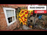 House Almost Destroyed After a Road Sweeper Ploughed into it | SWNS TV