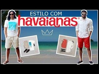 Como usar sandália HAVAIANAS no seu look: 3 ideias / MODA MASCULINA