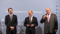 Türkiye - Almanya ekonomik ilişkileri toplantısı - Almanya Maliye Bakanı Scholz ve Almanya Ekonomi ve Enerji Bakanı Altmaier - BERLİN