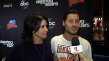 'DWTS' Exclusive: Val Chmerkovskiy & Nancy McKeon