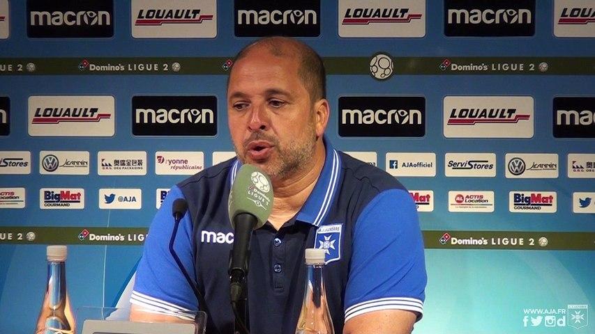 Réactions de Pablo Correa et Birama Touré après AJA - AC Ajaccio (0 - 0)