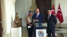Dışişleri Bakanı Mevlüt Çavuşoğlu, Venezuela Dışişleri Bakanı Jorge Arreaza ile ortak basın toplantısı düzenledi(2) - VENEZUELA