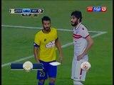 كأس مصر 2016 - رأسية من باسم مرسي في الثواني الاخيرة كادت ان تختم المباراة 5/0 للزمالك