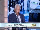 """مكرم_محمد_أحمد""""أنيس منصور كان يكتب بإسم السادات وكان الصحفى الأقرب للرئيس السادات """""""