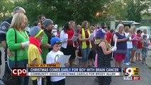 USA - Découvrez l'histoire émouvante de Brody, 2 ans, atteint d'un cancer au cerveau - Ses parents lui offrent un dernier Noël