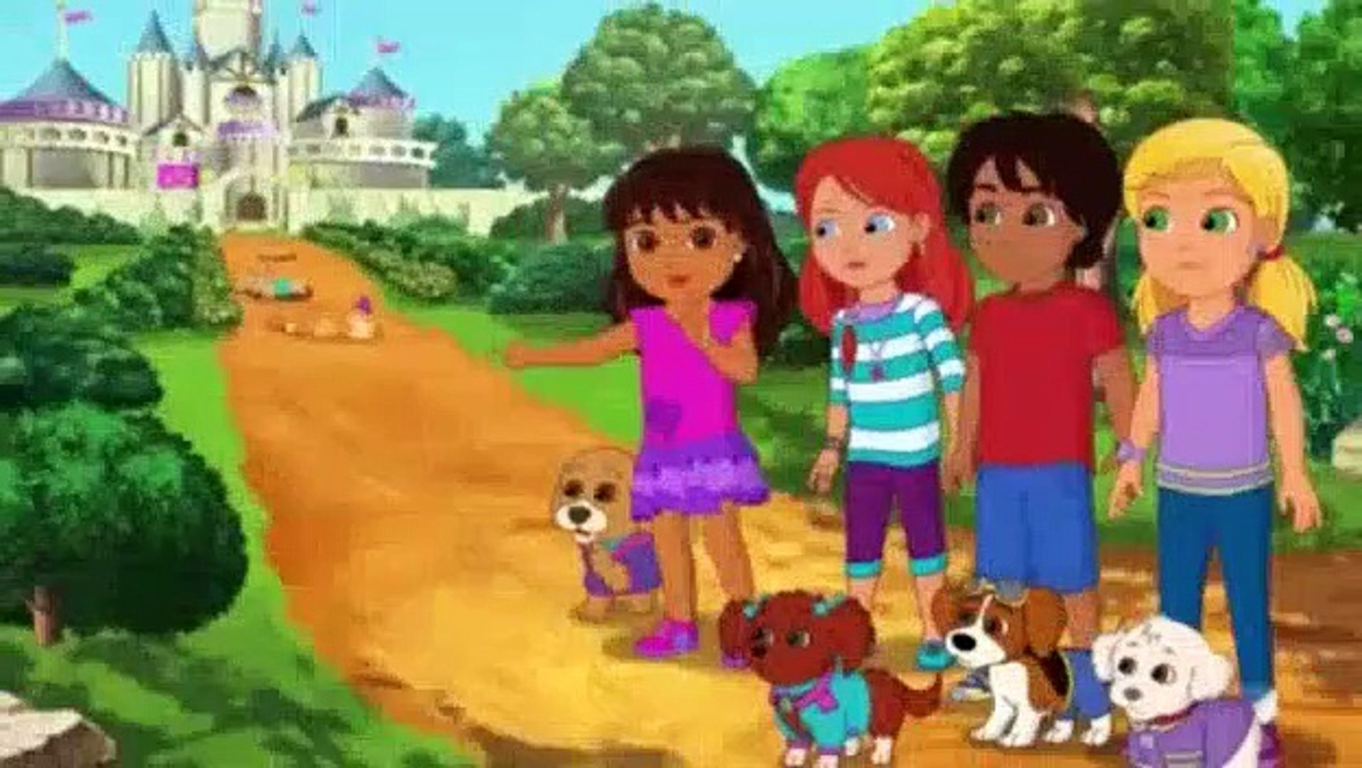 Dora and Friends Into the City! S01E14 - Puppy Princess Rescue (2)