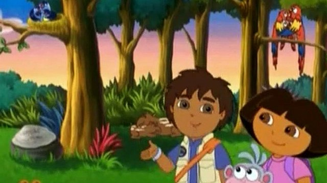 Dora The Explorer S03E21 - Boots' Cuddly Dinosaur