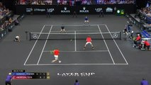 Laver Cup - Djokovic et Federer s'inclinent en double
