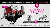 LIVE PRO dames - J3 : Issy-les-Moulineaux - Lys
