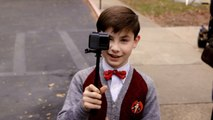 Owen Vaccaro Goes Behind The Scenes Of 'The House with a Clock in Its Walls'