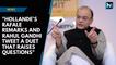 Hollande's remark and Rahul's tweet a duet that raise questions: Arun Jaitley