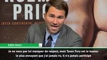 Poids lourds - Le promoteur de Joshua se paye Tyson Fury !
