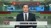 Korean highways jammed amid Chuseok holiday exodus