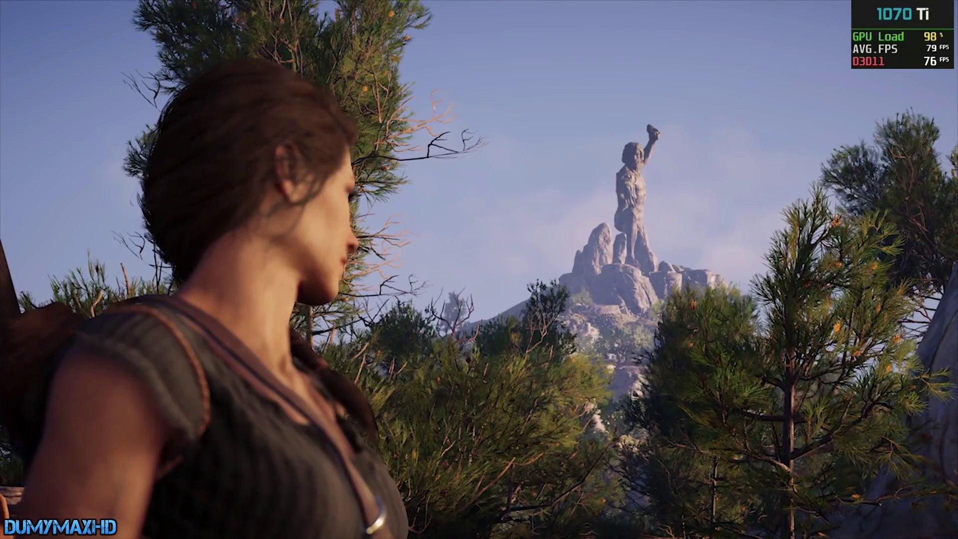 Assassin's Creed Odyssey i7 7700 16GB RAM GTX 1070 Ti MSI GAMING (PC)